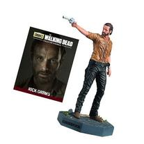 The Walking Dead Rick Grimes Figure with Collector Magazine