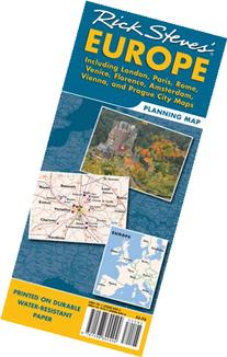 Rick Steves' Europe Map