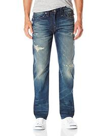 True Religion Men's Ricky with Flap Vintage Wash,  Broken