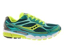 Saucony Women's Ride 7 Running Shoe,Green/Citron,9 M US