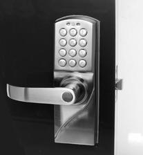 Right Handed Digital Combination Keypad Door Lock with