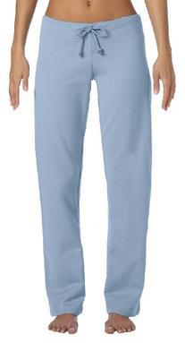 Bella Women's Ringspun Cotton Straight Leg Fleece Pants,
