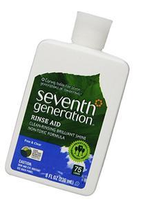 Seventh Generation Rinse Aid Free & Clear, 8 oz