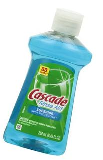 Cascade Rinse Aid, Dishwasher Rinse Agent, Original Scent 8.