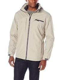 IZOD Men's Ripstop Midweight Jacket with Polar Fleece Lining