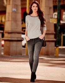 Morgan Low Rise Skinny Jeans