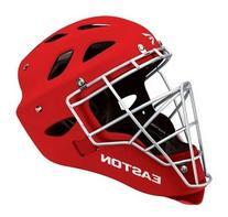 Easton Rival Catcher's Helmet, Red, Small