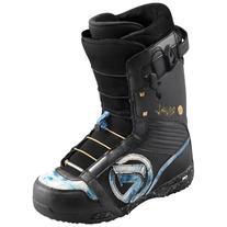 Flow Rival Quickfit Snowboard Boots, Black/Denim