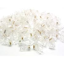 Sienoc 100PCS RJ45 CAT5 CAT5E Crystal Network Modular