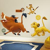 RoomMates RMK1922GM The Lion King Peel and Stick Giant Wall