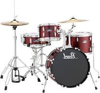 Pearl Roadshow 4-Piece Jazz Drum Set Wine Red
