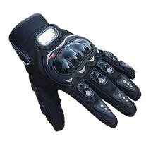 TPT 1pair Rock Black Short Sports Leather Motorcycle