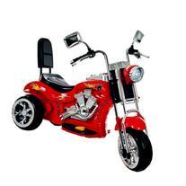 Lil Rider Rocking 3 Wheel Chopper Motorcycle, Red