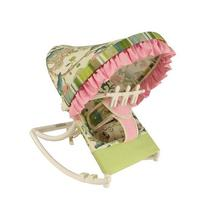 Hoohobbers Rocking Infant Seat, Pink Cirque
