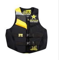 Body Glove Men's USCG Approved Neoprene Life Vest, Black, X-