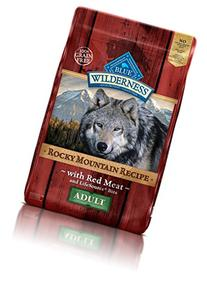 Blue Buffalo Wilderness Adult Rocky Mtn Recipes Red Meat -