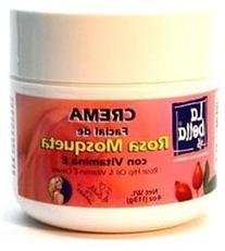 La Bella Rosa Mosqueta Rosehip Face Cream with Vitamin E 4oz