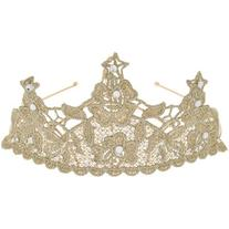 Monsoon Rose Lace Tiara
