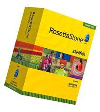 Rosetta Stone Homeschool Spanish  Level 1 including Audio