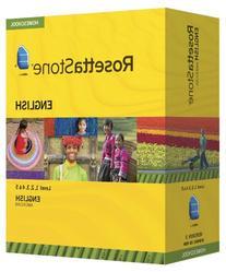 Rosetta Stone Homeschool English  Level 1-5 Set including