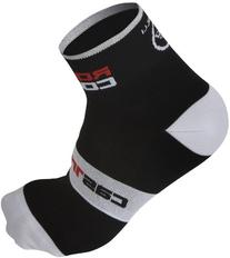 Castelli 2015 Rosso Corsa 6 Cycling Sock - Black - R7072-010