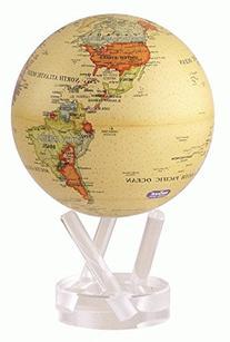 "6"" Antique Beige MOVA Globe"