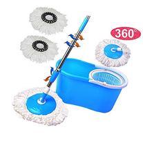 New!!! 360° Rotating Head Easy Magic Floor Mop Bucket 2