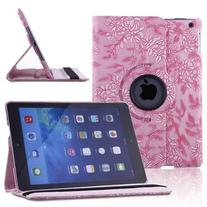 TOPCHANCES 360 Degrees Rotating Stand Luxury PU Leather Case