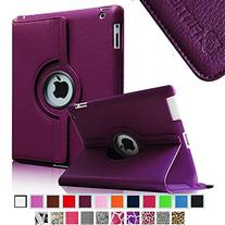 Fintie 360 Degree Rotating Stand Smart Case Cover for iPad 4