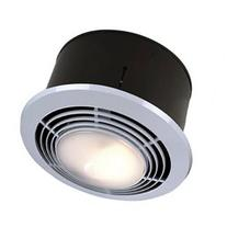 Round Bath Fan and Heater with Light