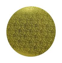 Oasis Supply Round Cake Drum, 16-Inch, Gold Foil
