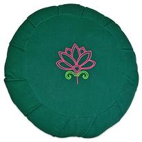 YogaAccessories Round Cotton Zafu Meditation Cushion - 2