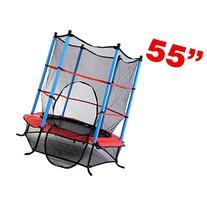 "Clevr Round 64""  55""  Kids Mini Trampoline Enclosure Net"