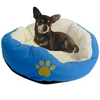 Evelots Small Round Pet Bed For Cats & Dogs Comfortable Soft