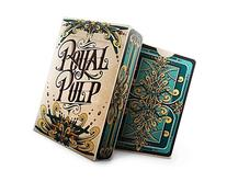 Royal Pulp Green Playing Cards Deck Limited Printed By Uspcc