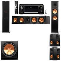 Bundle RP-280F Tower Speakers-5.1-AVR-X4100W  - RP280FBKBU13