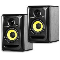 "KRK RP4G3 4"" High Performance Studio Monitors - Black"
