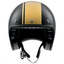 AGV RP60 Royal Open-face Street Helmet Black/Gold XL