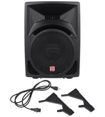 "Rockville RPG10 10"" Powered Active 600 Watt 2-Way DJ PA"