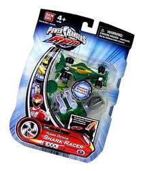 Power Rangers RPM Turbo Octane Zord Green Shark Racer