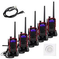 Retevis RT5 2 Way Radio 5W VHF UHF 136 174 400 520 MHz 128CH