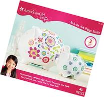 American Girl Crafts Rub-on Art Kit, Piggy Bank