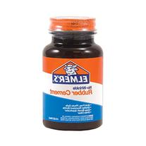Elmers No-Wrinkle Rubber Cement With Brush