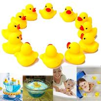 Dazzling Toys Rubber Small Cute Duck Ducky Duckie Baby