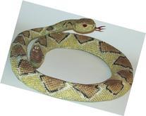 Rubber Replica Diamondback Rattlesnake Snake 36 Inch Reptile