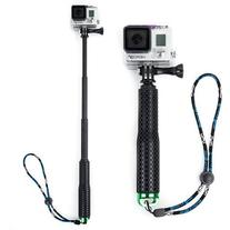 Rubberized Aluminum Monopod with tripod Mount for GoPro Hero