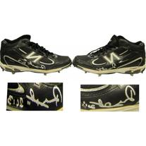 Rubby De La Rosa Autographed Game Used New Balance Spikes