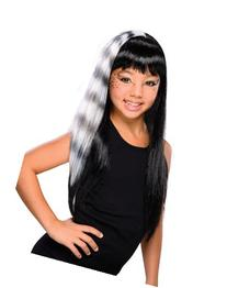 Rubies Child's Black and White Kitty Cat Wig