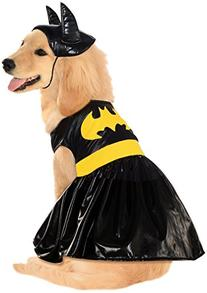 DC Comics Pet Costume, Large, Batgirl