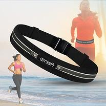 Freetoo Running Belt Workout Fanny Pack Running Bag Waist